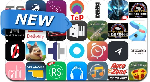 Newly Released iPhone & iPad Apps - April 9, 2018