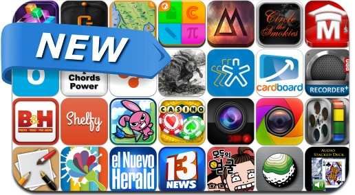 Newly Released iPhone & iPad Apps - May 30
