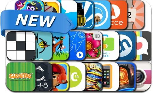 Newly Released iPhone & iPad Apps - April 29, 2014