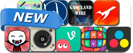 Newly Released iPhone & iPad Apps - February 1, 2015