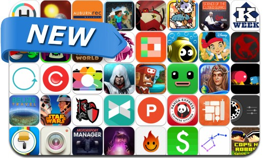 Newly Released iPhone & iPad Apps - August 22, 2014