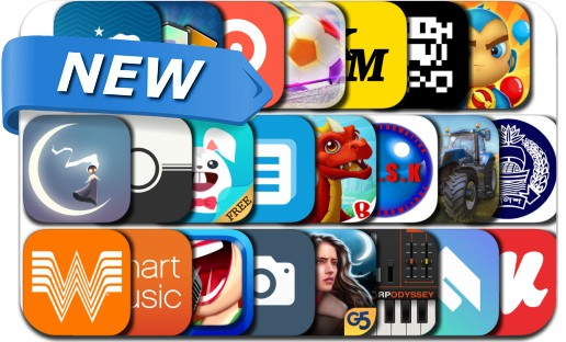 Newly Released iPhone & iPad Apps - November 2, 2016