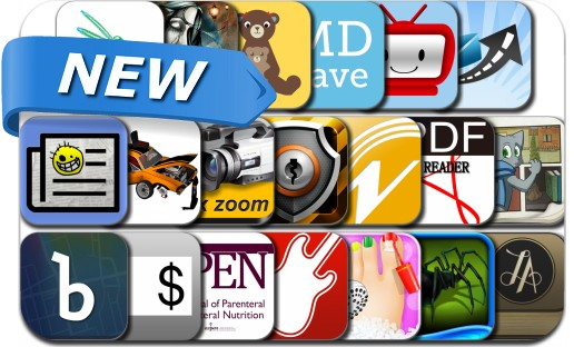 Newly Released iPhone & iPad Apps - July 9