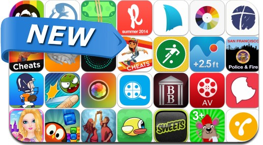 Newly Released iPhone & iPad Apps - May 22, 2014