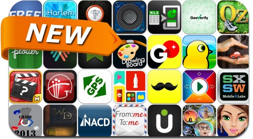 Newly Released iPhone & iPad Apps - March 9