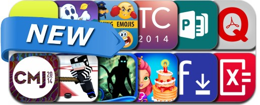 Newly Released iPhone & iPad Apps - October 21, 2014