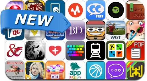 Newly Released iPhone & iPad Apps - October 19
