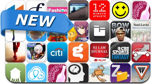 Newly Released iPhone & iPad Apps - July 2