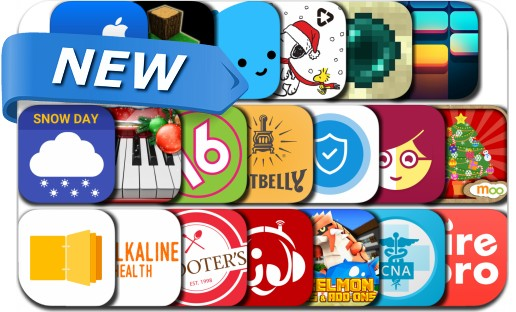Newly Released iPhone & iPad Apps - December 14, 2016