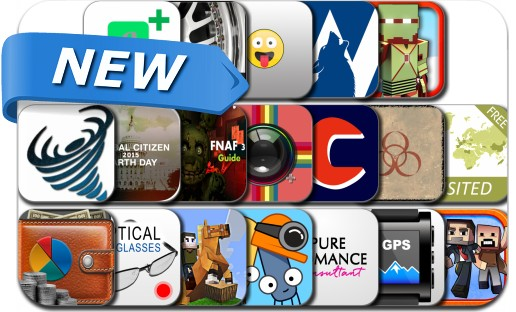 Newly Released iPhone & iPad Apps - April 19, 2015