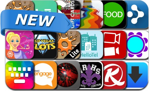 Newly Released iPhone & iPad Apps - October 15, 2014