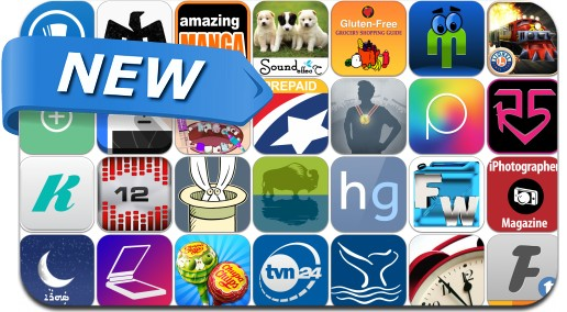 Newly Released iPhone & iPad Apps - August 17