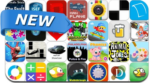 Newly Released iPhone & iPad Apps - May 11, 2014