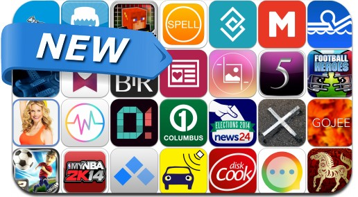 Newly Released iPhone & iPad Apps - November 9