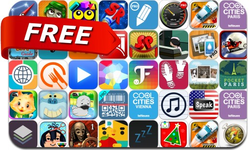 iPhone & iPad Apps Gone Free - December 12, 2014