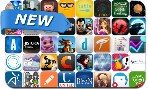 Newly Released iPhone & iPad Apps - May 2