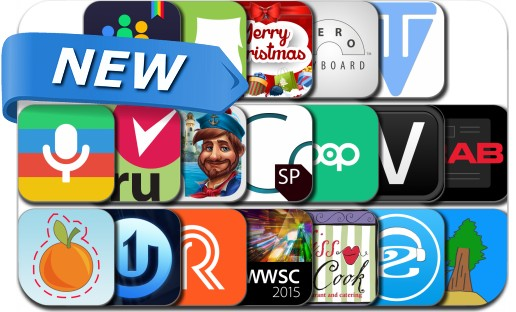 Newly Released iPhone & iPad Apps - December 10, 2014