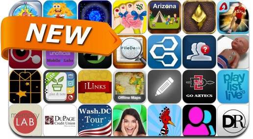 Newly Released iPhone & iPad Apps - March 23