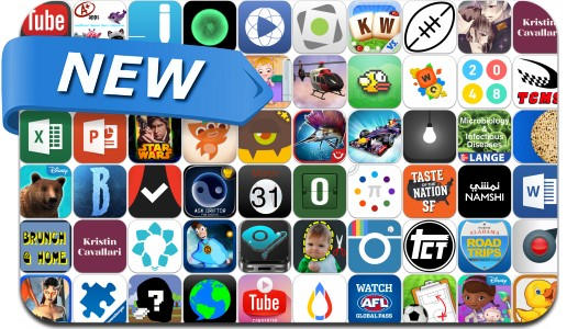 Newly Released iPhone & iPad Apps - March 28, 2014