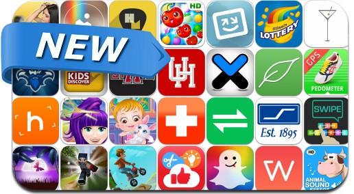 Newly Released iPhone & iPad Apps - January 15