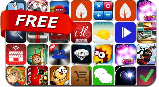 iPhone & iPad Apps Gone Free - March 12