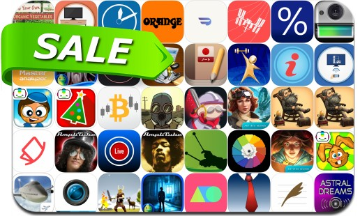 iPhone & iPad App Price Drops - May 21, 2018