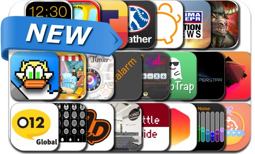 Newly Released iPhone & iPad Apps - April 5, 2014