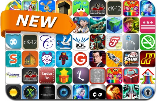 Newly Released iPhone & iPad Apps - March 29