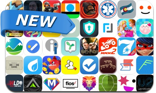 Newly Released iPhone & iPad Apps - April 26, 2018