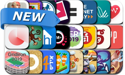 Newly Released iPhone & iPad Apps - July 17, 2019