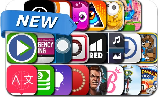 Newly Released iPhone & iPad Apps - August 8, 2015