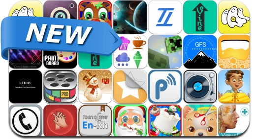 Newly Released iPhone & iPad Apps - December 15