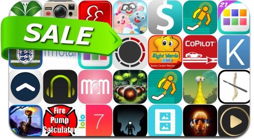 iPhone & iPad App Price Drops - August 29, 2015