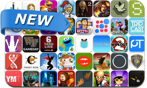 Newly Released iPhone & iPad Apps - August 29, 2014