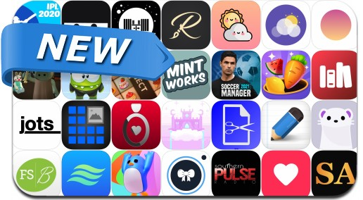 Newly Released iPhone & iPad Apps - September 21, 2020