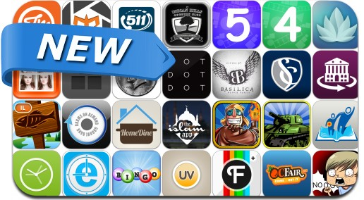 Newly Released iPhone & iPad Apps - July 13