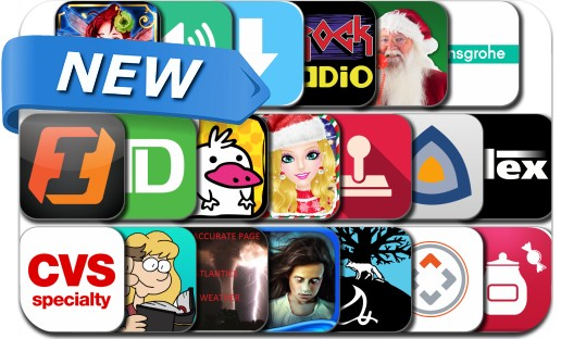 Newly Released iPhone & iPad Apps - December 9, 2014