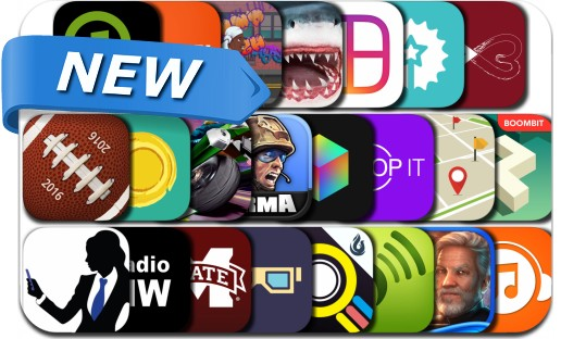 Newly Released iPhone & iPad Apps - July 19, 2016
