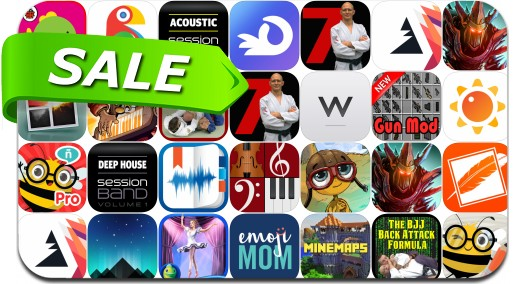 iPhone & iPad App Price Drops - August 24, 2016