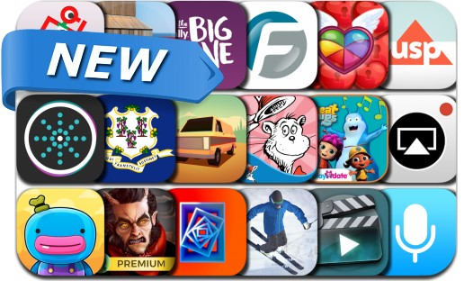 Newly Released iPhone & iPad Apps - February 2, 2018