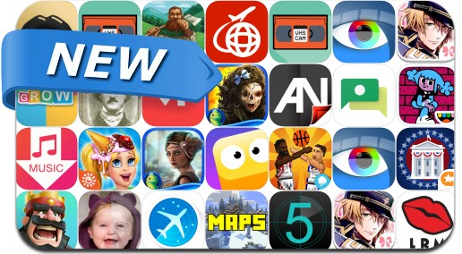 Newly Released iPhone & iPad Apps - March 3, 2016