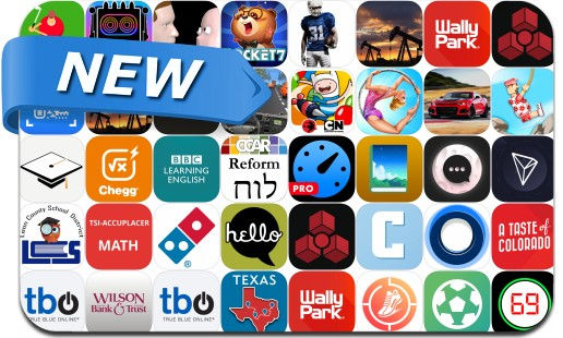 Newly Released iPhone & iPad Apps - August 30, 2018
