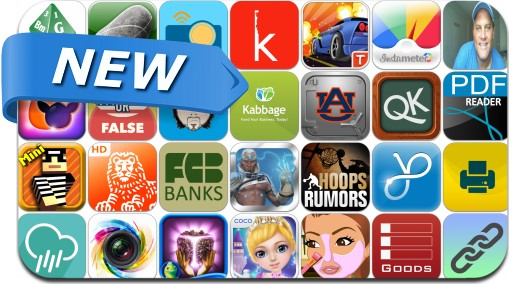 Newly Released iPhone & iPad Apps - August 27
