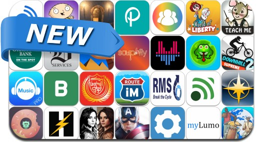 Newly Released iPhone & iPad Apps - March 29, 2014