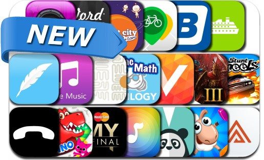 Newly Released iPhone & iPad Apps - June 6, 2015