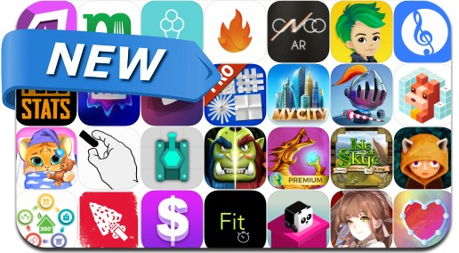 Newly Released iPhone & iPad Apps - July 21, 2018