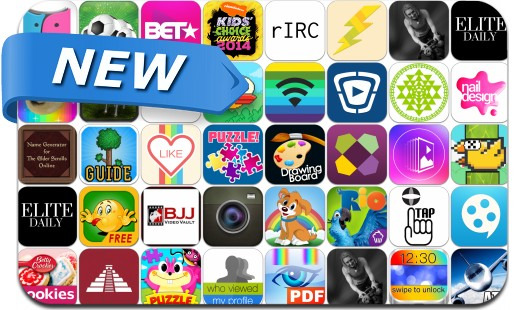 Newly Released iPhone & iPad Apps - March 30, 2014