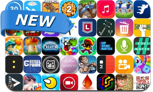 Newly Released iPhone & iPad Apps - October 15, 2016