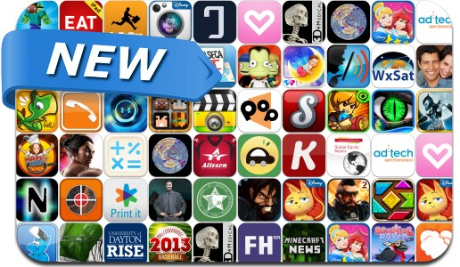 Newly Released iPhone & iPad Apps - April 5
