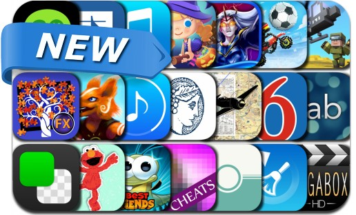 Newly Released iPhone & iPad Apps - October 20, 2016